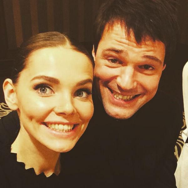 Елизавета часто выставляет снимки с коллегой и другом Данилой Козловским