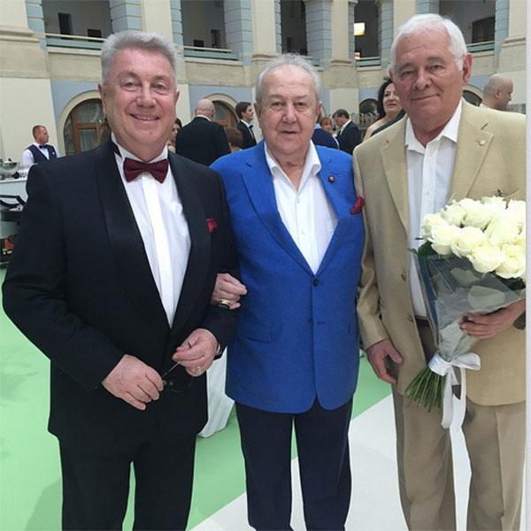 Гости свадьбы – Владимир Винокур, Зураб Церетели и Леонид Рошаль