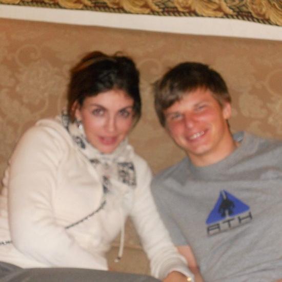 Алиса Казьмина и Андрей Аршавин в 2011 году