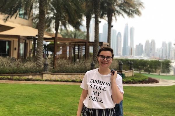 Татьяна Брухунова отдыхает в Дубае
