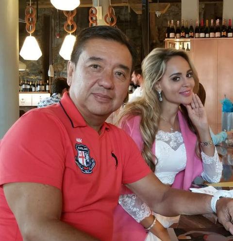 Олег Накариков и Анна Калашникова