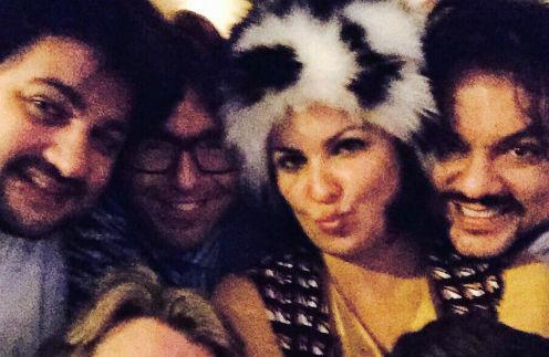 Анна Нетребко со звездными друзьями