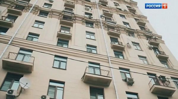 Роскошный дом в центре Москвы, где находится квартира композитора