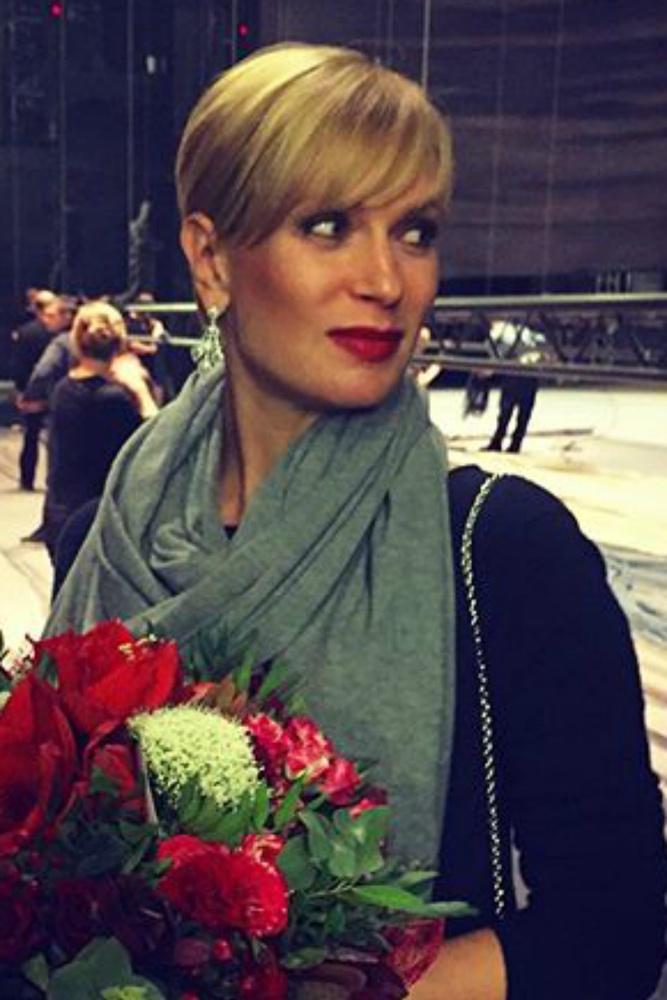 Фото беременных актрис олеся судзиловская 49