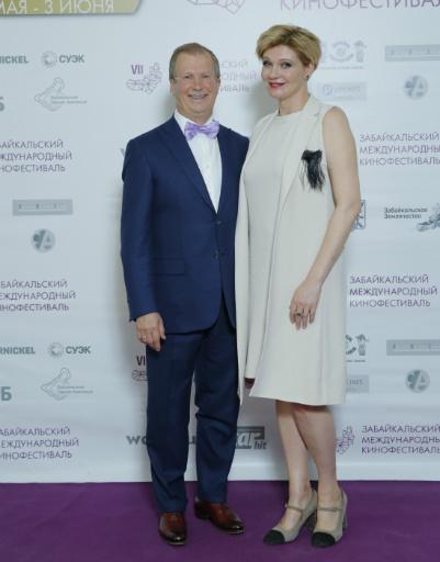 Виктор Шкулев и Анна Ардова