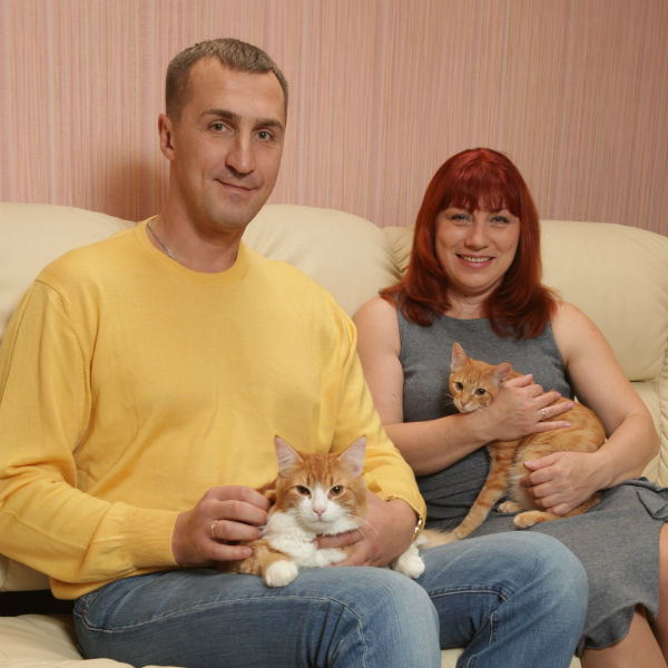 Юрий Андреев и Роза Сябитова