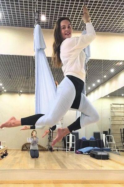 В свободное время Екатерина предпочитает заниматься спортом