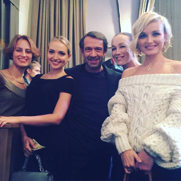 Гости вечера – Владимир Машков, Полина Гагарина, Дарья Мороз и другие