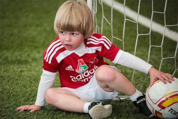 Даниэль Гусев - будущая звезда футбола