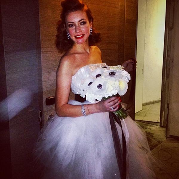 Невеста выбрала платье от Vera Wang