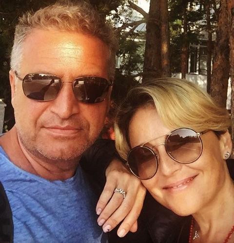 Леонид Агутин вместе с супругой Анжеликой Варум