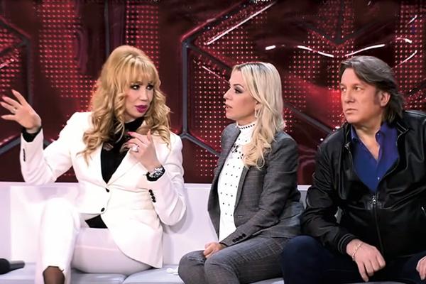Маша Распутина, Ирина Салтыкова и Юрий Лоза