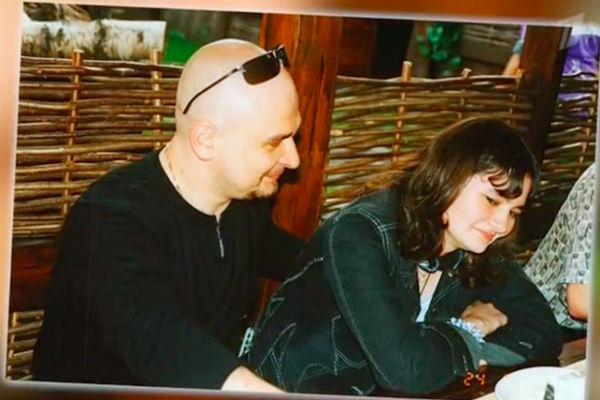 Сергей Трофимов со старшей дочерью Анной