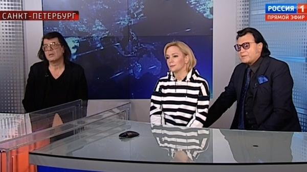 Буланова и Корнелюк вышли на связь со студией из Петербурга