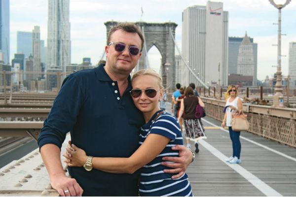 После поездки в Нью-Йорк в 2012 году Алексей сделал Наталье предложение