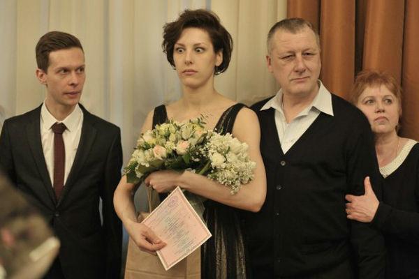 Ирина Горбачева на свадьбе с Григорием Калининым