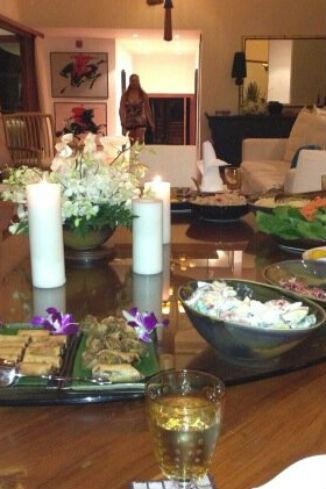 Один из ужинов
