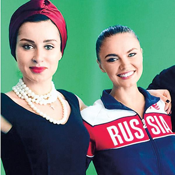 Кабаева снялась в рекламном ролике канала «Матч ТВ», Тина Канделаки – его генеральный продюсер