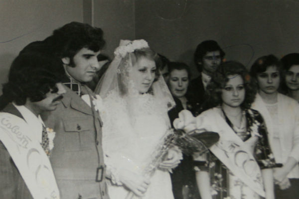 На свадьбе Ахмед шептал на ухо Светлане: «Я обещаю - мы будем счастливы», 1977 год