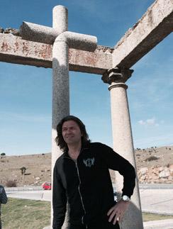 Дмитрий Маликов на отдыхе в Испании