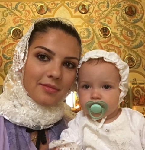 Ирина Рыжова вместе с дочерью Лидой