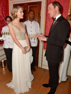 Тейлор Свифт и принц Уильям