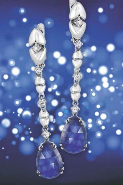 Выиграйте серьги с сапфирами от ювелирного дома «Кристалл мечты».