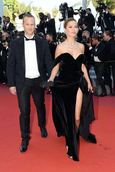 Пьер Андюран и Виктория Боня на показе фильма «Девушки солнца»