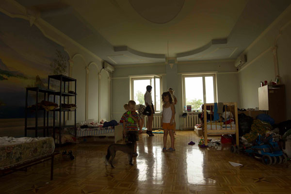 В трехэтажном особняке адвоката живут в основном женщины с детьми