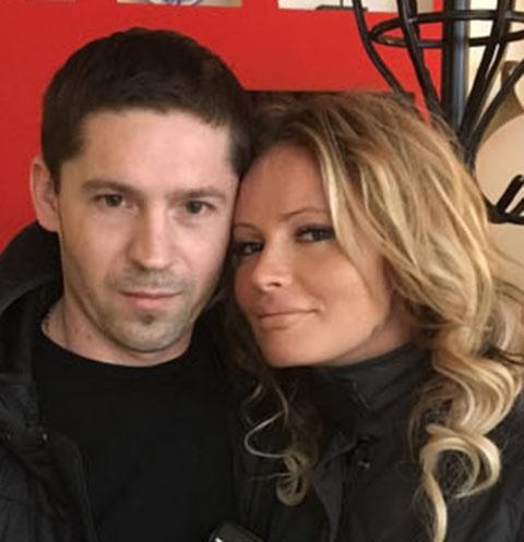 Дана Борисова с мужем Андреем Трощенко