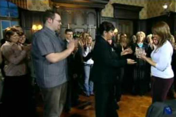 Кадр из британской версии шоу
