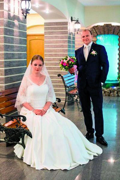Дарья и Павел отметили свадьбу в ресторане на Чистых прудах