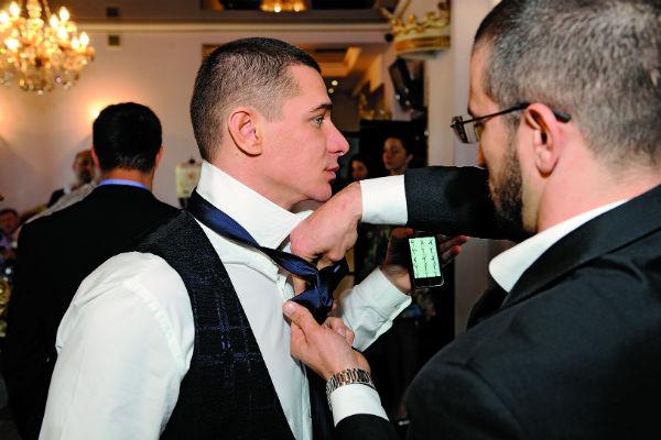 Брутальный свадебный костюм жениха - дело рук дизайнера Виктории Чертиной и ее модного дома Chertina & Durre