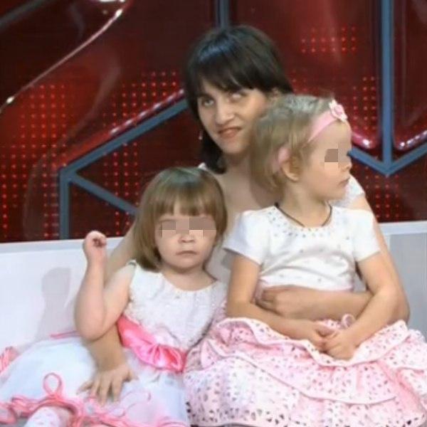 Бывшая жена Анжела с детьми
