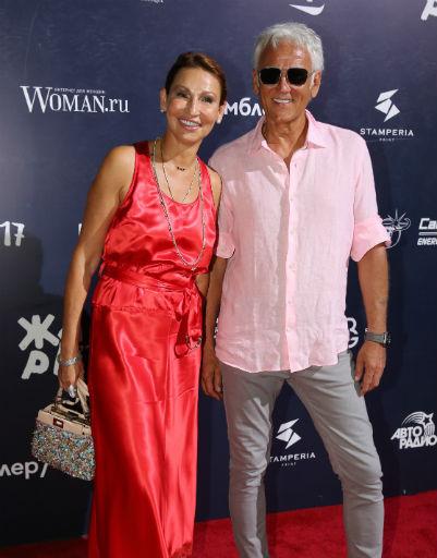 Александр Маршал с супругой