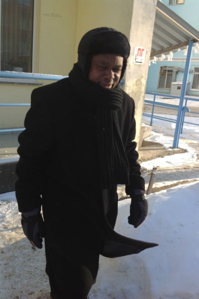 Супруг прилетает в гости каждые четыре месяца. Последний раз был в Нижнем Новгороде в январе