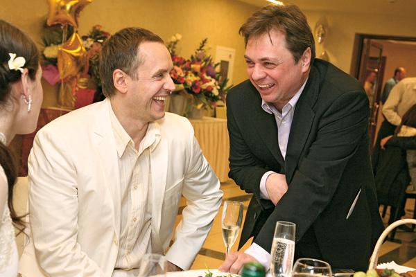 Андрей Соколов и Андрей Леонов