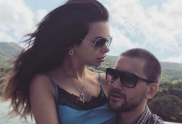 Катя Жужа и Олег Винник