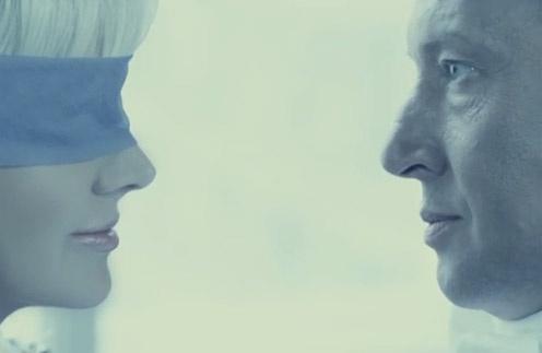 Кадр из нового клипа Натали