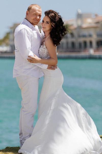 Сергей и Екатерина долго скрывали свадьбу