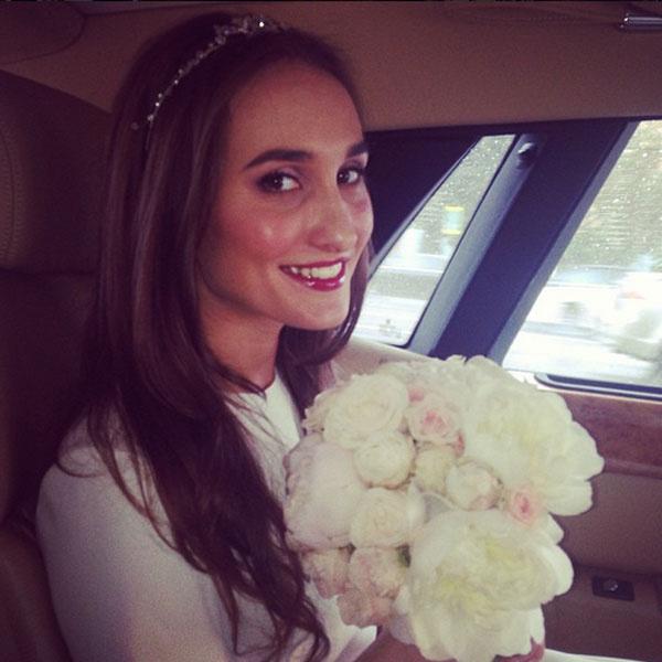 Для регистрации невеста выбрала платье от Игоря Чапурина