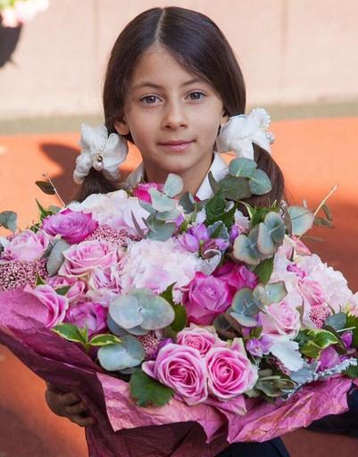 Дочь Михаила Галустяна Эстелла пошла в первый класс