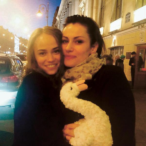 Младшая сестра Ковальчук Екатерина – тоже актриса