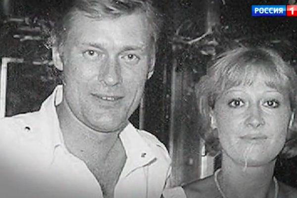 Борис Щербаков с женой Татьяной Бронзовой