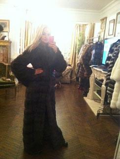 Виктория Лопырева встречает зиму во всеоружии