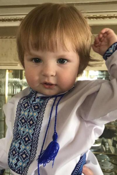 Иван, сын Марии Максаковой и Дениса Вороненкова