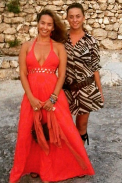 Жанна Фриске с сестрой Натальей