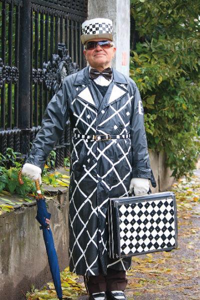 Казаковцев в костюме мистера Твистера