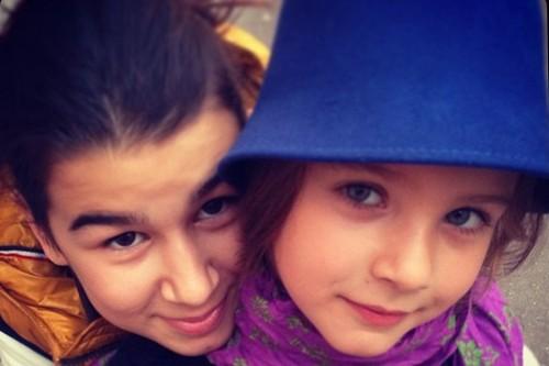 Приемная дочь Ивана Урганта Эрика вместе с Ниной