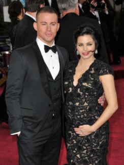 Ченнинг Татум с супругой Дженной  Деван